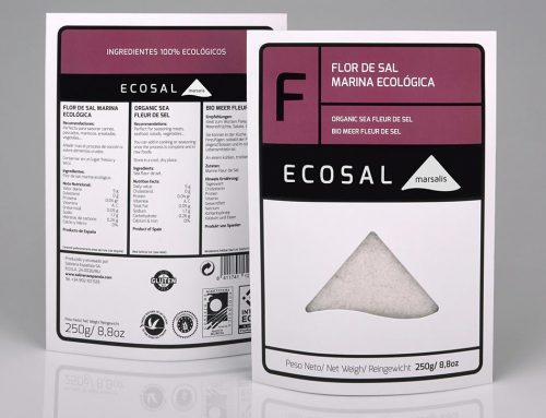 Flor de sal marina ecológica 'F' Ecosal