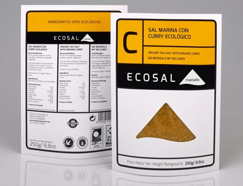 Ecosal 'C' sea salt with organic curry