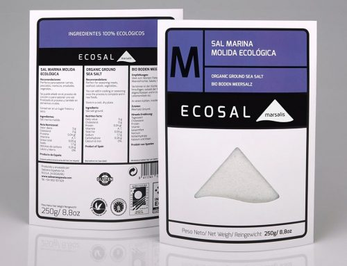Ecosal 'M' organic ground sea salt