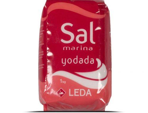 Sal marina yodada Leda